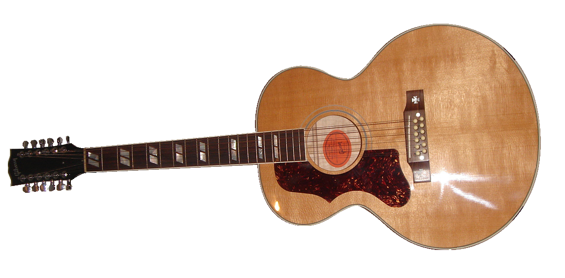 guitare gaucher 12 cordes