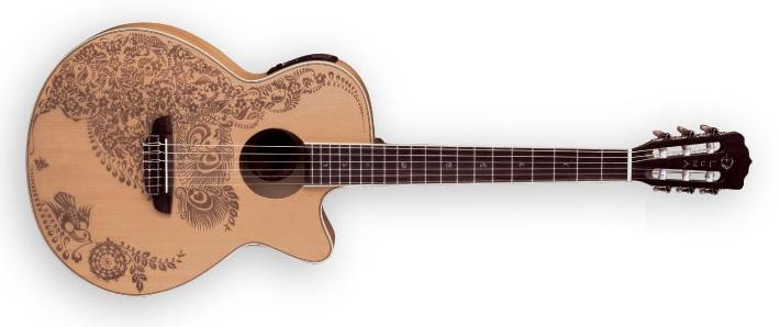 guitares acoustiques electro classique zoom henna oasis. Black Bedroom Furniture Sets. Home Design Ideas