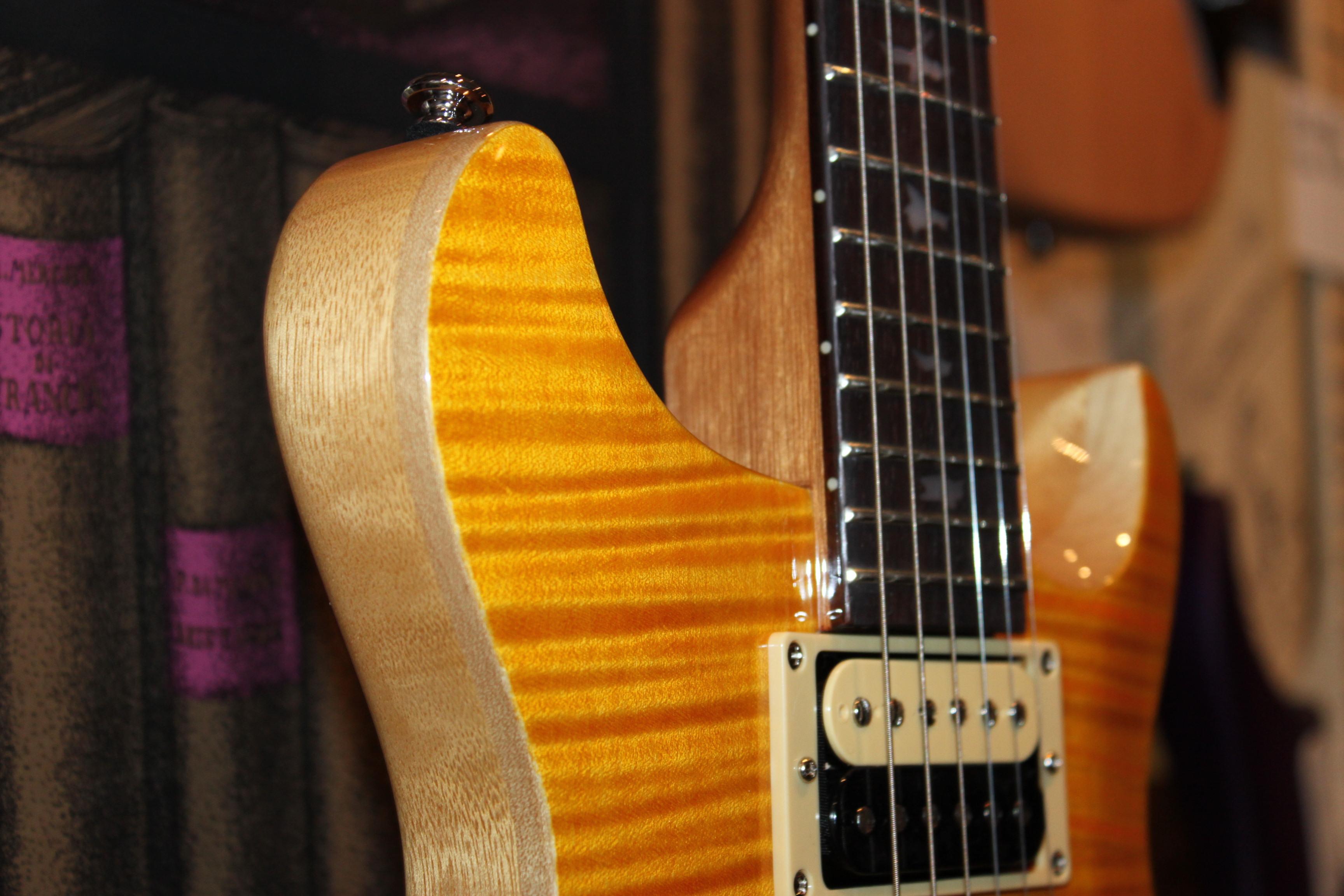guitares electriques prs santana occasion santana yellow 500. Black Bedroom Furniture Sets. Home Design Ideas