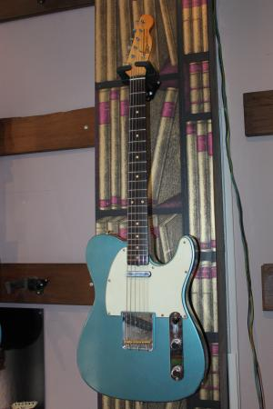 Rebelrelic - Tele Custom  Blue