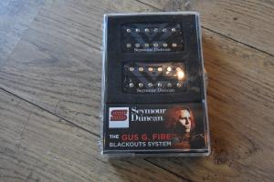 SEYMOUR DUNCAN  - GUS G FIRE   blackout set  ABH11S