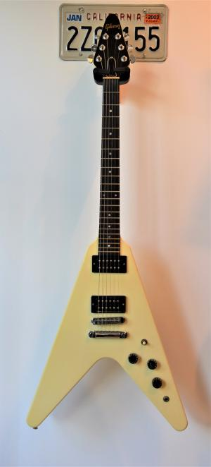 Gibson - FLYING V 1985 ANTIQUE WHITE
