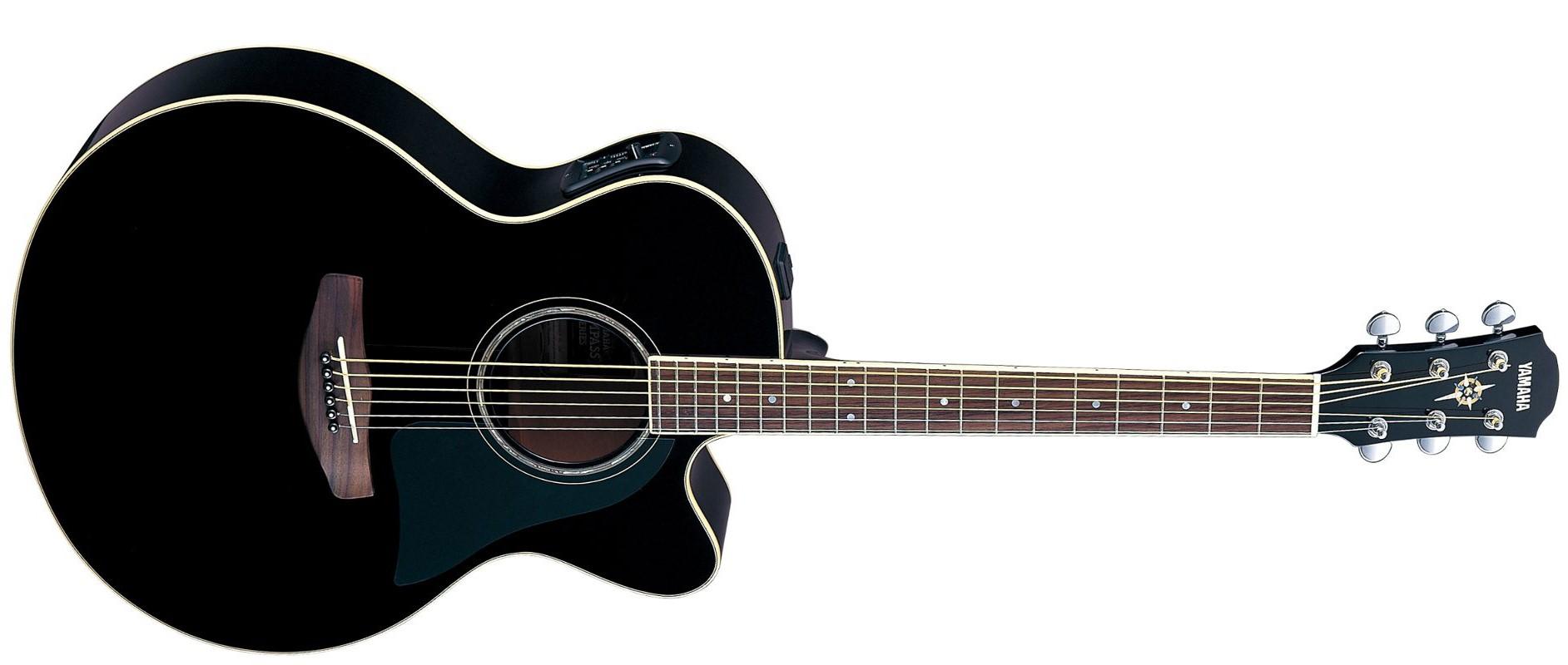 Guitares Acoustiques Yamaha CPX 500 Noire - CPX 500 ...